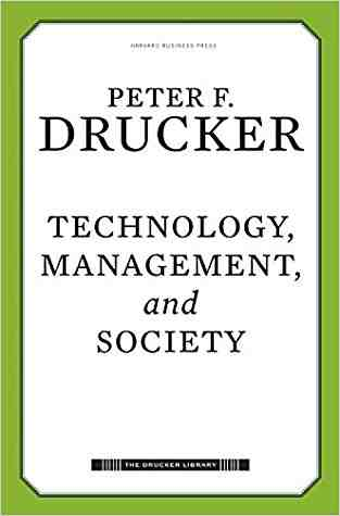 Buy Technology, Management, and Society by Drucker online in india - Bookchor   9781422131619