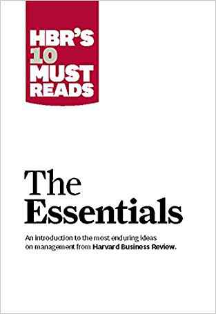 Buy HBRs 10 Must Reads: The Essentials by Harvard Business Review online in india - Bookchor | 9781422133446