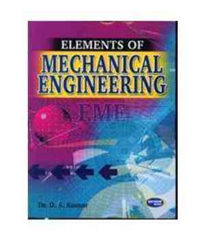 Buy Elements Of Mechanical Engineering (Ku) by Dr. D.S. Kumar online in india - Bookchor   9788188458448