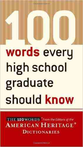 Buy 100 Words Every High School Graduate Should Know by Noelle Stevenson online in india - Bookchor | 9780618374120