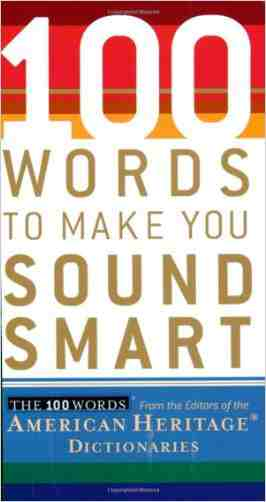 Buy 100 Words to Make You Sound Smart by American Heritage Dictionary (Editor) online in india - Bookchor | 9780618714889