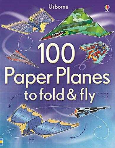 Buy 100 Paper Planes to Fold and Fly by Rob Kidd online in india - Bookchor | 9781409551119