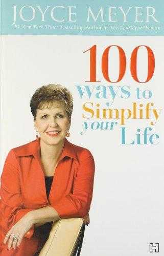 Buy 100 Ways To Simplify Your Life by Joyce Meyer online in india - Bookchor | 9789350090466