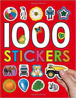 Buy 1000 Stickers [With Stickers] by Priddy Books Manufactured , Not Available Na online in india - Bookchor   9780312504922
