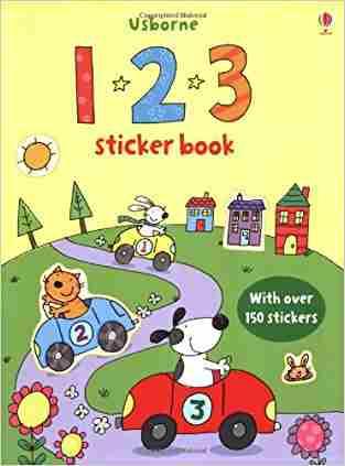 Buy 123 Sticker Book by Sam Taplin online in india - Bookchor   9780746097861