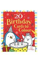 Buy 20 Birthday Cards to Colour by Rob Kidd online in india - Bookchor   9781409522843