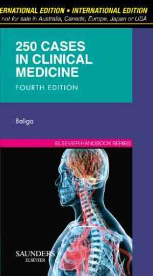 Buy 250 Cases in Clinical Medicine by Baliga? online in india - Bookchor | 9780702033858