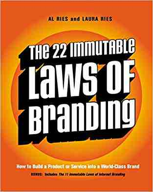 Buy 22 Immutable Laws of Branding by Al Ries online in india - Bookchor   9781861976055