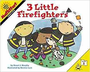 Buy 3 Little Firefighters by Stuart J. Murphy online in india - Bookchor | 9780060001209