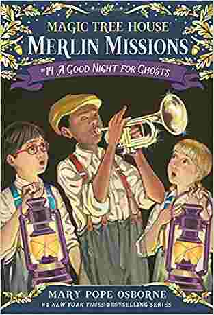 Buy A Good Night for Ghosts by Mary Pope Osborne online in india - Bookchor | 9780375856495