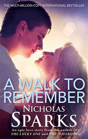 Buy A Walk to Remember by Nicholas Sparks online in india - Bookchor   9780751538946