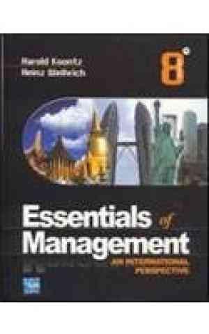 Buy Essentials For Management : An International Perspective by Harold Koontz , Heinz Weihrich online in india - Bookchor | 9780070144958