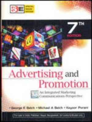 Buy Advertising & Promotion by George Belch online in india - Bookchor   9780070144965