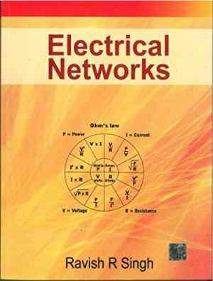 Buy Electrical Networks by Ravish Singh online in india - Bookchor   9780070260962