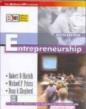 Buy Entrepreneurship (Special Indian Edition) by Robert Hisrich online in india - Bookchor | 9780070620179