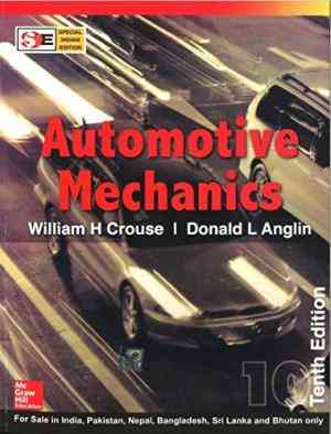 Buy Automotive Mechanics by William Crouse online in india - Bookchor   9780070634350