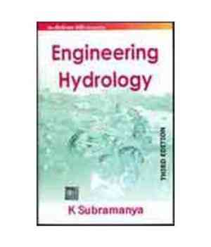Buy Engineering Hydrology by K Subramanya online in india - Bookchor   9780070648555