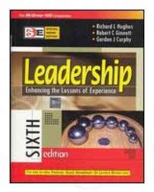 Buy Leadership 6E  (Sie) by Richard Hughes online in india - Bookchor | 9780070080713