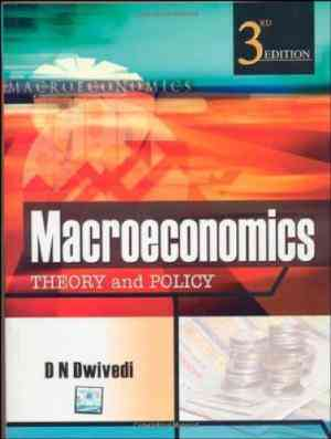 Buy Macroeconomics : Theory & Policy, 3e by D N Dwivedi online in india - Bookchor   9780070091450