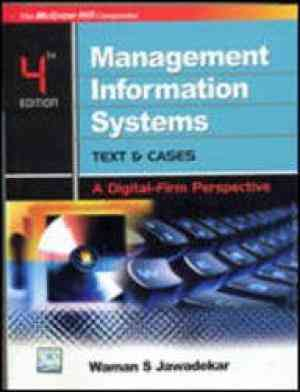 Buy Management Information Systems : Text & Cases by Waman Jawadekar online in india - Bookchor | 9780070146624