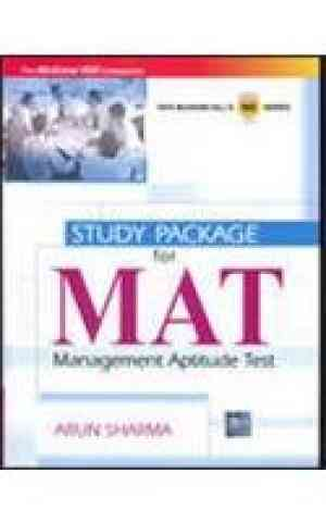 Buy Study Package for MAT (Management Aptitude Test) by Arun Sharma online in india - Bookchor | 9780070221154