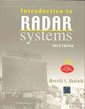Buy Introduction To Radar Systems by Merrill Skolnik online in india - Bookchor   9780070445338