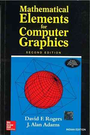 Buy Mathematical Elements For Computer Graphics by J. Alan Adams online in india - Bookchor   9780070486775