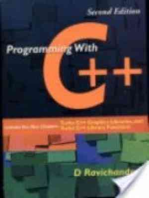 Buy Programming With C++ by D Ravichandran online in india - Bookchor | 9780070494886