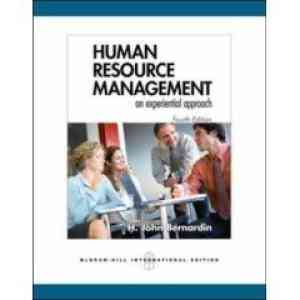 Buy Human Resource Management 4E by H. John Bernardin online in india - Bookchor   9780070635821