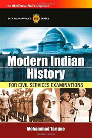 Buy Modern Indian History by Mohammad Tarique online in india - Bookchor | 9780070660304