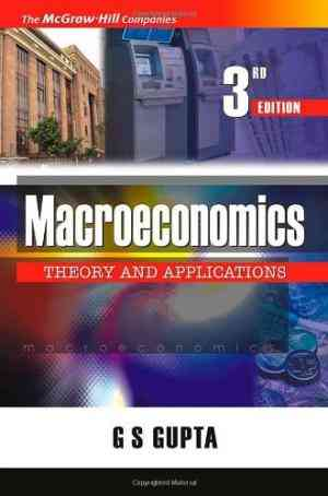 Buy Macroeconomics: Theory and Applications by G. Gupta online in india - Bookchor   9780070668072