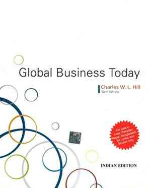 Buy Global Business Today by Charles W. L. Hill online in india - Bookchor   9780071332569