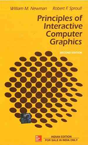 Buy Principles Of Interactive Computer Graphics by William Newman online in india - Bookchor   9780074632932