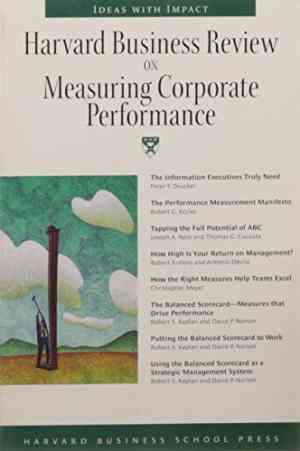 Buy Measuring Corporate Performance by HBR online in india - Bookchor | 9780070252851
