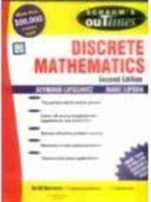 Buy Discrete Mathematics (Special Indian Edition) (Schaums Outline Series) by LIPSCHUTZ online in india - Bookchor   9780070601741