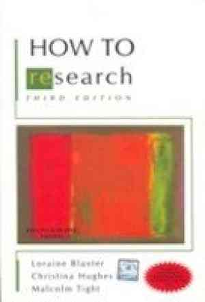 Buy How to Research by Loraine Blaxter online in india - Bookchor   9780071074070