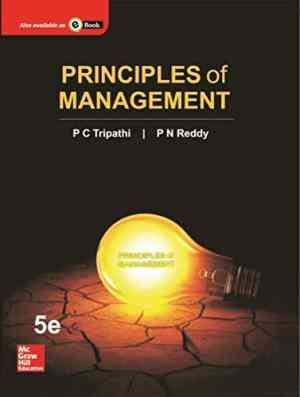 Buy Principles of Management by Tripathi P C online in india - Bookchor | 9780071333337