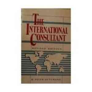 Buy International Consultant by H. Peter Guttmann online in india - Bookchor   9780070253063