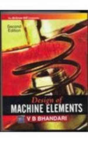 Buy Design of Machine Elements by Bhandari online in india - Bookchor | 9780070611412