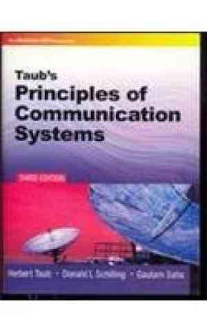 Buy Principles of Communication Systems by Herbert Taub online in india - Bookchor | 9780070648111
