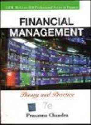 Buy Financial Management: Theory and Practice by Prasanna Chandra online in india - Bookchor   9780070656659