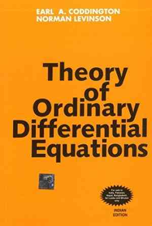 Buy Theory of Ordinary Differential Equations by Earl Coddington online in india - Bookchor | 9780070992566