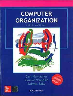 Buy Computer Organization by Hamacher online in india - Bookchor | 9781259005275