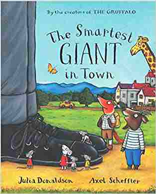 Buy Smartest Giant in Town Big Book by Julia Donaldson online in india - Bookchor | 9780230013896