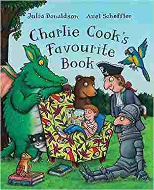 Buy Charlie Cooks Favourite Book Big Book by Julia Donaldson online in india - Bookchor   9780330511285