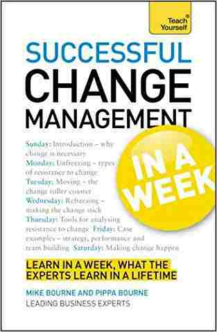 Buy Successful Change Management in a Week a Teach Yourself Guide by Mike Bourne online in india - Bookchor | 9781444158809