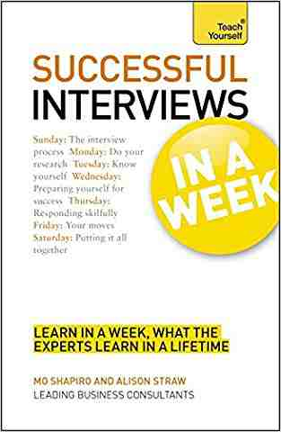 Buy Succeeding at Interviews in a Week a Teach Yourself Guide by Alison Straw online in india - Bookchor | 9781444159257
