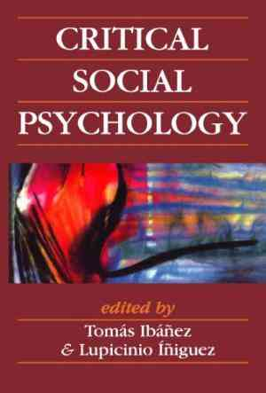 Buy Critical Social Psychology by Tomas IbanezGracia , Lupicinio Iniguez Rueda , Tomas Ibaqez General editor , Tomas Ibanez online in india - Bookchor | 9780761952893