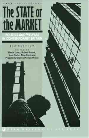 Buy The State or the Market: Politics and Welfare in Contemporary Britain by Noelle Stevenson online in india - Bookchor   9780803986428