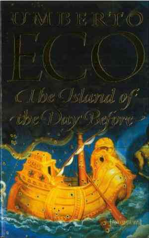 Buy Island of the Day Before by Umberto Eco online in india - Bookchor   9780749396664